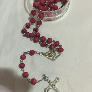 rose wood rosary