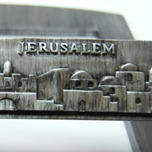 Jerusalem Bible Stand dark grey color