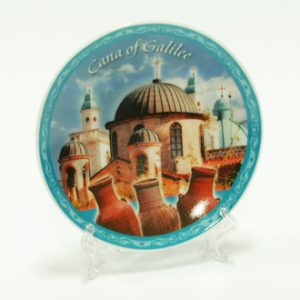 cana of galilee small plate