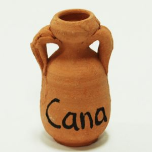 cana of galilee small jar
