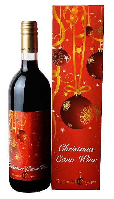 Christmas Cana wine