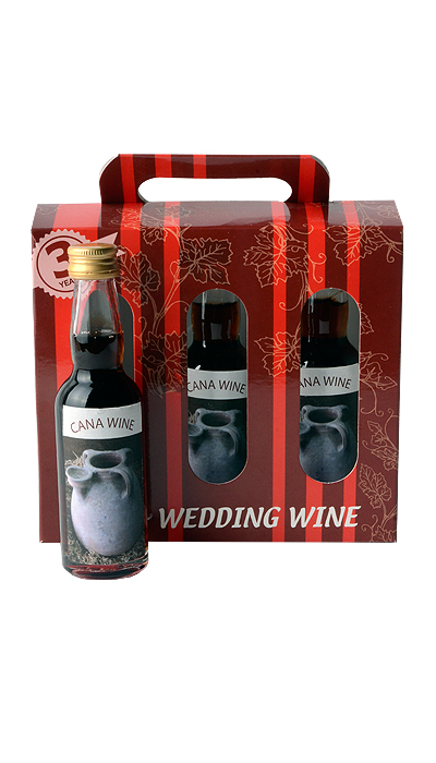 cana wedding wine 3 years