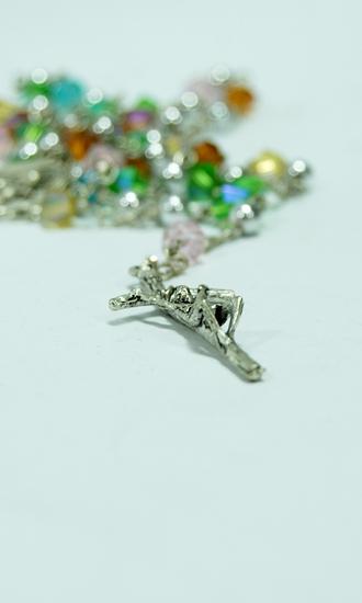mix crystal rosary