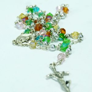 mix crystal rosary