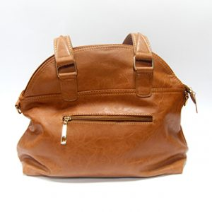 hand bag leather camel