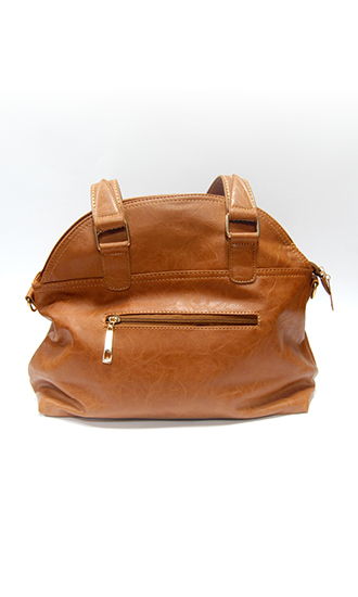 hand bag leather camel
