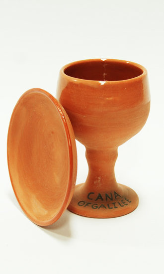 pottery charles cup and plate