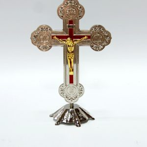 Silver & Gold Plated Cross