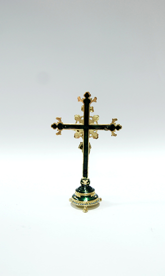 gold plated cross