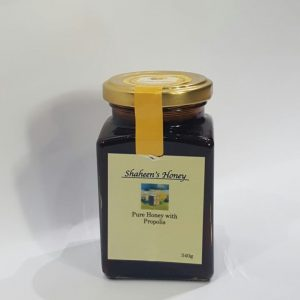 pure honey with propolis