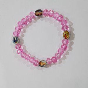 bracelet- pink