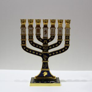 BLUE MENORAH (BIG)