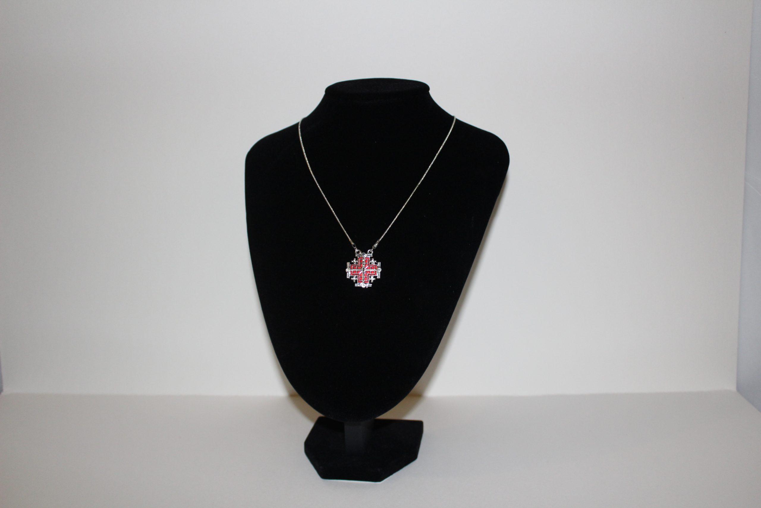 jerusalem cross- red