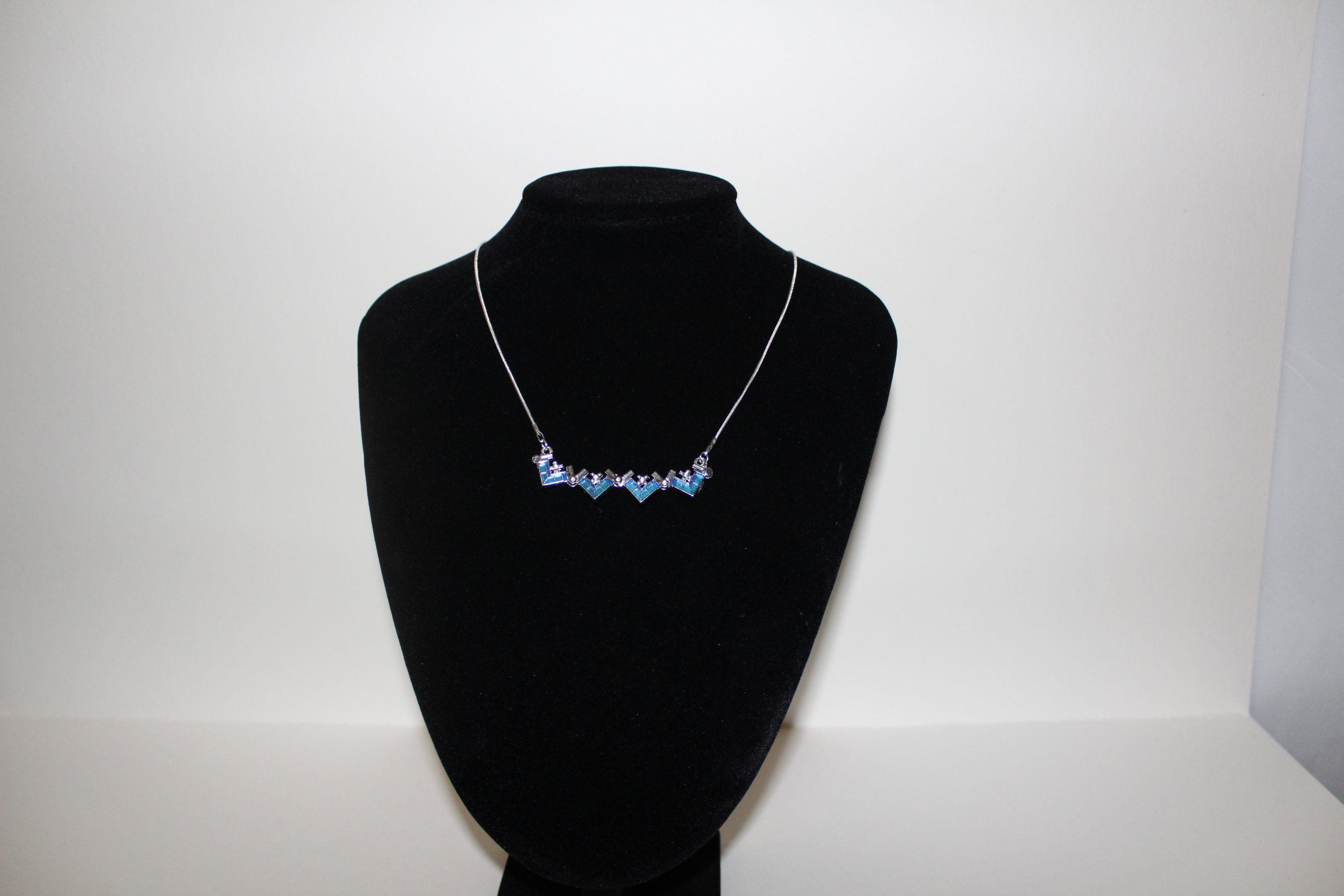 jerusalem cross- blue