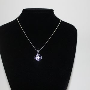 JERUSALEM CROSS- SILVER