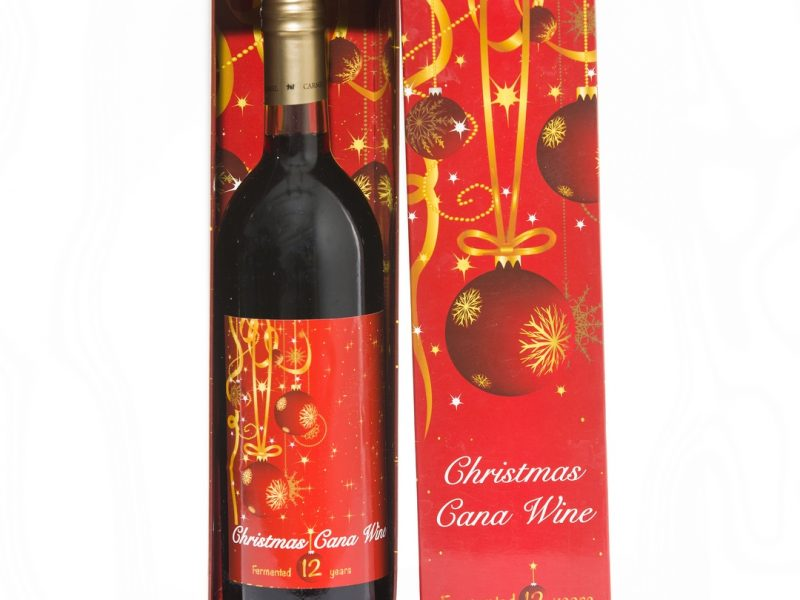 christmas cana wine